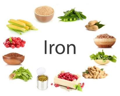Cung cấp cho bé các thực phẩm giàu chất sắt