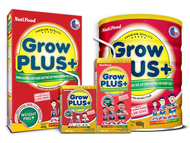 Growplus+ tăng cân khỏe mạnh