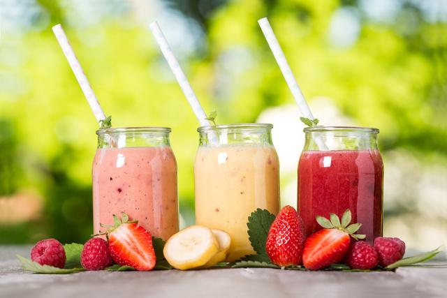 Sinh tố trái cây giàu chất dinh dưỡng cho trẻ