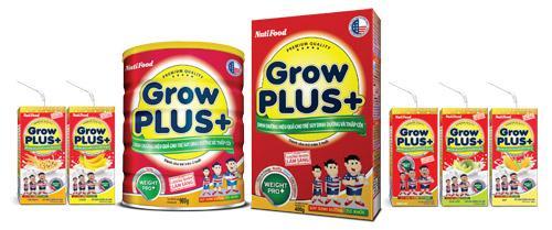 Sữa Growplus+ cho bé trên 1 tuổi tăng cân khỏe mạnh