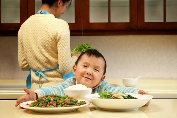 cách để trẻ tăng cân