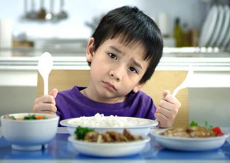 Trẻ biếng ăn là nỗi lo thường trực của các bậc phụ huynh