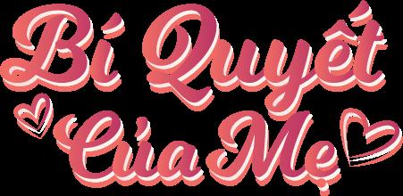 logo bí quyết của mẹ