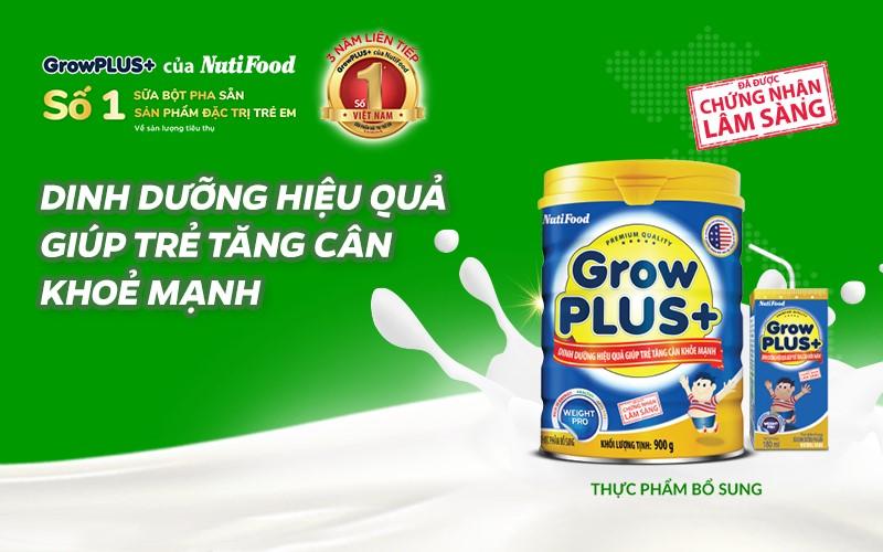 Sữa Công Thức Nào Tốt Nhất Cho Trẻ Tăng Cân Hiệu Quả | Nutifood.com.vn