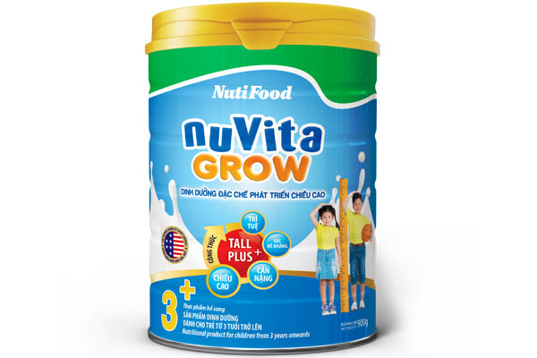 NuVita Grow 3+ for children from 3 years onwards
