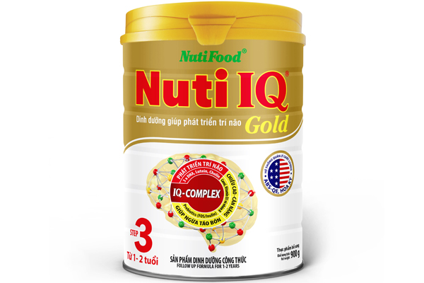 Nuti IQ Gold Step 3 (from 1 – 2 years)