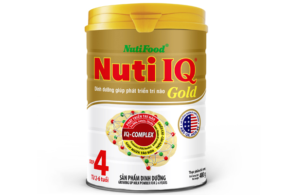 Nuti IQ Gold step 4 (from 2 – 6 years)
