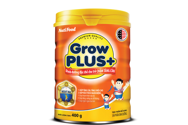GrowPLUS+ Specialized nutrition for slow weight gain kids