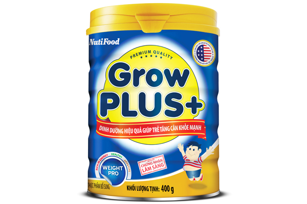 GROWPLUS+ EFFECTIVE NUTRITION SOLUTION FOR KIDS GAINING WEIGHT HEALTHILY