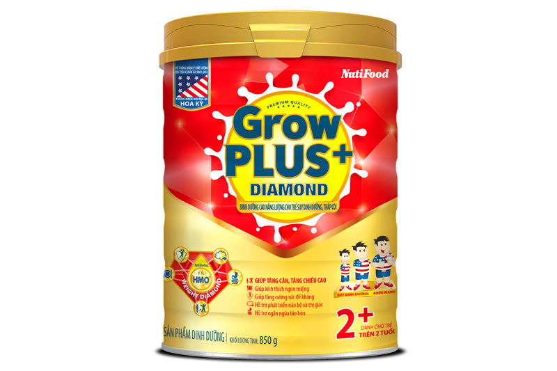 GrowPLUS+ Diamond 2+ high energy nutrition for malnourished and stunted kids
