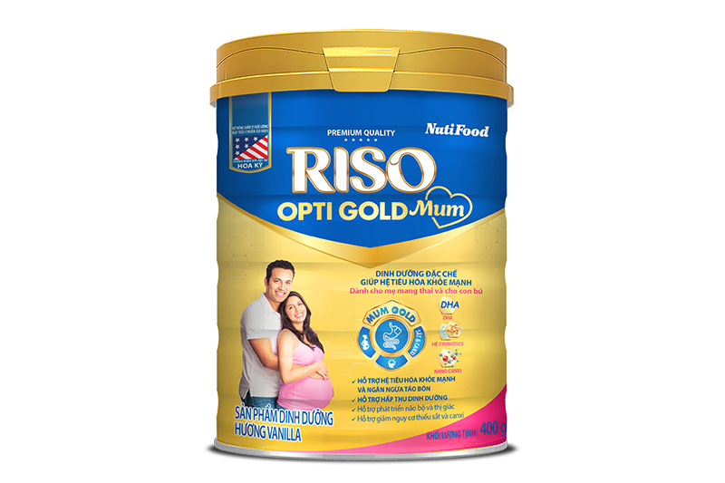 Riso Opti Gold Mum- Specialized nutrition for healthy digestive system