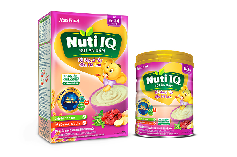Nuti IQ infant cereal