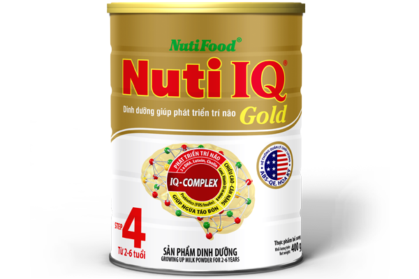 Nuti IQ Gold Step 4