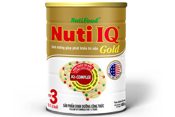 Nuti IQ Gold Step 3