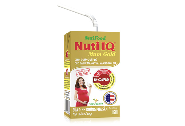 Ready to drink milk Nuti IQ Mum Gold