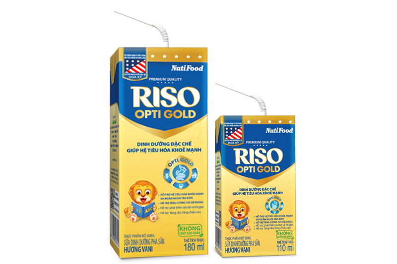 Riso Opti Gold ready-to-drink milk