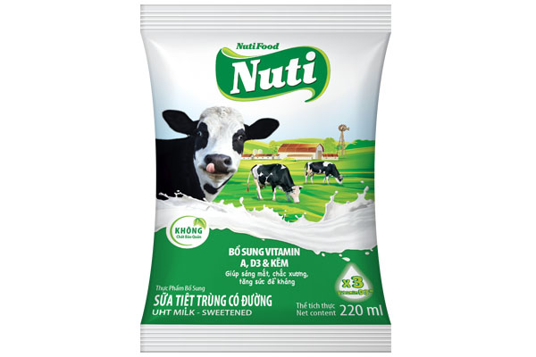 Uht Milk - Sweetened