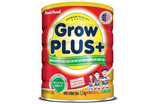GrowPLUS+ Effective nutrition solution for malnourished and stunted kids